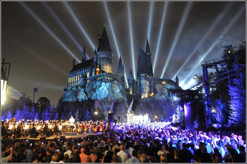 The Wizarding World Of Harry potter in japan...BY Cherry Blossom